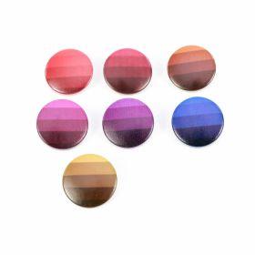 Nasturi Plastic cu Picior, Marime 36 Lin (50 bucati/pachet)Cod: ART8-46 Nasturi cu Picior, 22.9 mm (100 bucati/punga) Cod: TR15/36