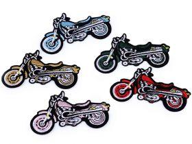 Embleme Adezive, Termoadezive, Decorative Embleme Termoadezive, Motocicleta (10 buc/pachet) Cod: 400020