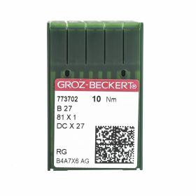 Ace Gross Beckert Industrial Triplock Sewing Machine Needles (100 pcs/box), Code: NXB27