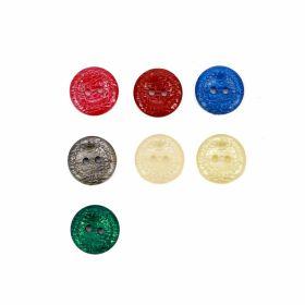 Nasturi cu Picior, din Plastic, 25 mm (50 buc/pachet) Cod: 04-171/48 Nasturi cu 2 Gauri, 15 mm (50 bucati/punga) Cod: 43348