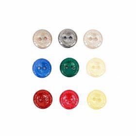 Croitorie Nasturi cu 2 Gauri, 12.7 mm (50 bucati/punga) Cod: 43348