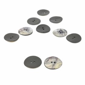 Croitorie Nasturi cu 2 Gauri, 27 mm (25 bucati/punga) Cod: 24030