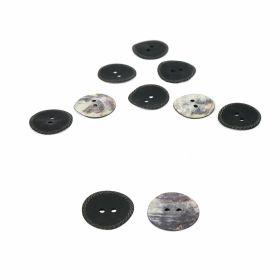 Croitorie Nasturi cu 2 Gauri, 15 mm (50 bucati/punga) Cod: 11924