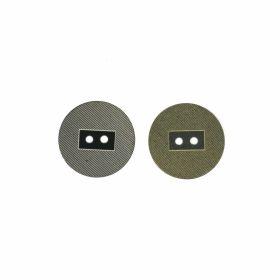 Nasturi cu Doua Gauri, 15 mm (50 buc/punga)Cod: 25413/24 Nasturi cu 2 Gauri, 15 mm (50 bucati/punga) Cod: 11923