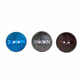 Croitorie Nasturi cu 2 Gauri, 22.9 mm (50 bucati/punga) Cod: 12477