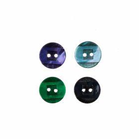 Croitorie Nasturi cu 2 Gauri, 15 mm (50 bucati/punga) Cod: 12478