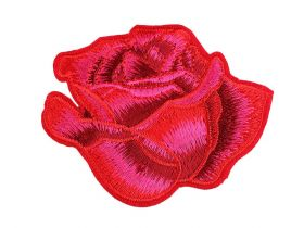 Decorare Embleme Termoadezive, Trandafir (10 buc/pachet) Cod: 390626