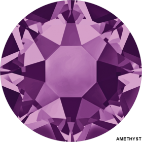 Cristale de Lipit 2078, Marimea: SS34, Culoare: Provenience Lavander (144 buc/pachet)  Cristale de Lipit 2078, Marimea: SS34, Culoare: Amethyst (144 buc/pachet)