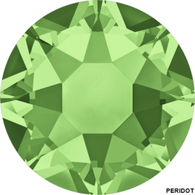Cristale de Lipit 2078, Marimea: SS20, Culoare: Light Sapphire Shimmer AB (144 buc/pachet)  Cristale de Lipit 2078, Marimea: SS34, Culoare: Peridot (144 buc/pachet)