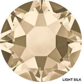 Cristale de Lipit 2078, Marimea: SS16, Culoare: Jet (1440 buc/pachet)  Cristale de Lipit 2078, Marimea: SS34, Culoare: Light Silk (144 buc/pachet)