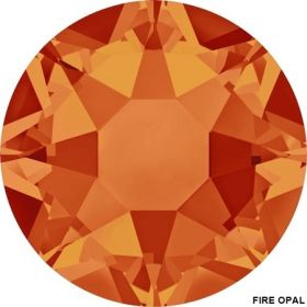 Cristale de Lipit 2078, Marimea: SS34, Culoare: Silk (144 buc/pachet)  Cristale de Lipit 2078, Marimea: SS34, Culoare: Fire Opal (144 buc/pachet)