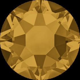 Cristale de Lipit 2038, Marimea: SS34, Culoare: Topaz (144 buc/pachet)  Cristale de Lipit 2038, Marimea: SS34, Culoare: Topaz (144 buc/pachet)