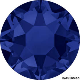 Cristale de Lipit 2038, Marimea: SS34, Culoare: Topaz (144 buc/pachet)  Cristale de Lipit 2038, Marimea: SS34, Culoare: Dark Indigo (144 buc/pachet)