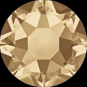 Cristale de Lipit 2078, Marimea: SS20, Culoare: Light Sapphire Shimmer AB (144 buc/pachet)  Cristale de Lipit 2078, Marimea: SS34, Culoare: Crystal Golden Shadow(144 buc/pachet)