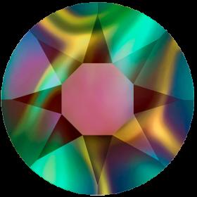 Cristale de Lipit 2078, Marimea: SS16, Culoare: Jet (1440 buc/pachet)  Cristale de Lipit 2078, Marimea: SS34, Culoare: Crystal Rainbow Dark (144 buc/pachet)