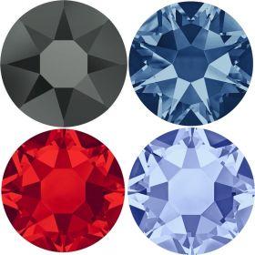 Cristale de Lipit 2078, Marimea: SS34, Culoare: Cobalt (144 buc/pachet)  Cristale de Lipit 2078, Marimea: SS16, Culoare: COLOR-AB (144 buc/pachet)