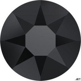 Cristale de Lipit 2038, Marimea: SS34, Culoare: Topaz (144 buc/pachet)  Cristale de Lipit 2038, Marimea: SS16, Culoare: JET-AB (144 buc/pachet)
