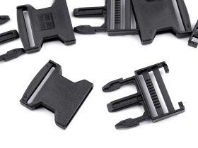 Inel Carabina Metalice, 18 mm (10 bucati/pachet)Cod: 750722 Tridenti din Plastic, 40mm, Negri (5 bucati/punga)