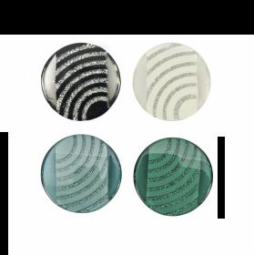 Nasturi cu Picior Y10815, 15mm (100 buc/pachet) Nasturi Plastic cu Picior, Marime 54L (25 bucati/pachet)Cod: 0311-1729/54