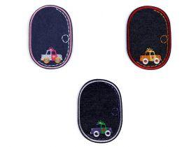 Decorare Embleme Termoadezive Jeans (10 bucati/pachet) Cod: 390560