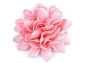 Aplicatii si decoratiuni pentru haine Flori textile, Ø45 mm (10 bucati/pachet) Cod: 390980