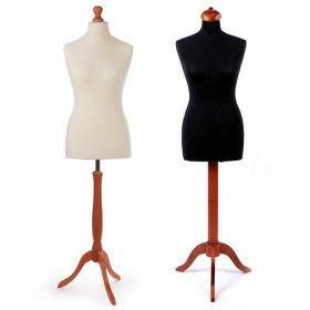 Croitorie Bust Croitorie Poliuretan, Femeie, Marime 40-42 (Alb, Negru)