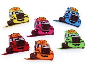 Embleme Termoadezive, Camion (10 buc/pachet) Cod: 400067