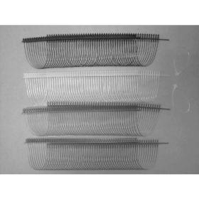 Agatatori cu Inel - Forma Semicerc  ( 5000 bucati/cutie )  100 mm V-Tool Security Loops, White  (5.000 pcs/box)
