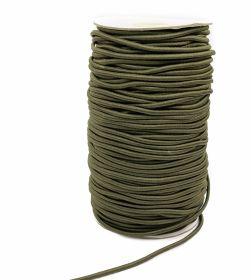 Elastic Rotund, Ø 2,5 mm ALB (1,1KG)-1245metri Elastic Rotund, Ø 3 mm (100 metri/rola)