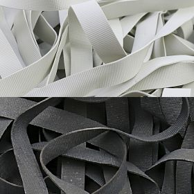 Elastic (benzi elastice) Rubber Elastic for Swimwear (1 kgs/box)