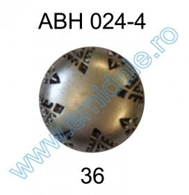 Nasturi cu Picior FB756, Marimea 44 (144 buc/pachet) Nasture Plastic Metalizat ABH024-4, Marimea 36 (144 buc/pachet)