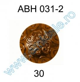 Nasture Plastic Metalizat JU049, Marime 28, Auriu (100 buc/punga)  Nasture Plastic Metalizat ABH031-2, Marimea 30 (144 buc/pachet)