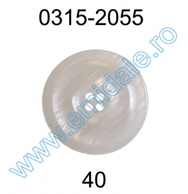 Nasturi cu patru gauri 3021/40 (100 bucati/punga) Nasture Plastic 0315-2055/40 (100 bucati/punga)