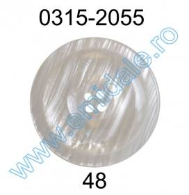 Nasturi Plastic cu Doua Gauri 0313-1283/36 (100 bucati/pachet) Nasture Plastic 0315-2055/48 (100 bucati/punga)