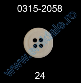 Nasturi AKH3232/32 (144 buc/punga) Nasturi Plastic cu Patru Gauri 0315-2058/24 (100 bucati/punga)