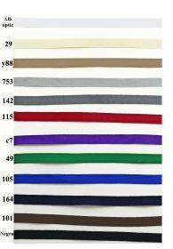 Banda Ripsata Poliester, latime 10 mm (100 metri/rola) Banda Decorativa Poliester Radu 10 mm ( 100 metri/rola )