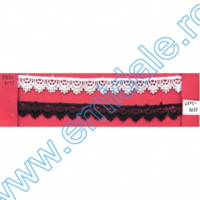 Dantela, latime 10 cm (10 metri/rola) Cod: 3826 Dantela, latime 18 mm (13,72 m/rola)Cod:0575-1051