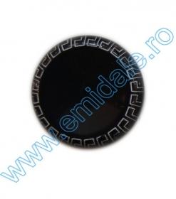Nasturi cu Doua Gauri 0312-0334/36 (100 buc/punga) Culoare: Alb  Nasturi Plastic YL067-32 (144 bucati / punga) Culoare: Negru