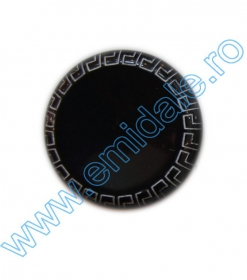 Nasturi cu Doua Gauri 3871/54 (25 buc/punga) Nasturi Plastic YL067-32 (144 bucati / punga) Culoare: Negru